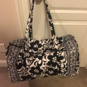Vera Bradley day &night large duffle new